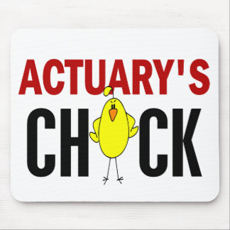 Actuary's Chick Mouse Pad
