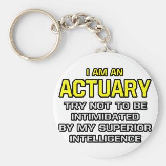 Actuary...Superior Intelligence Keychain