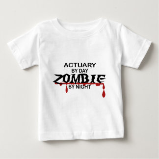 Actuary Zombie Baby T-Shirt