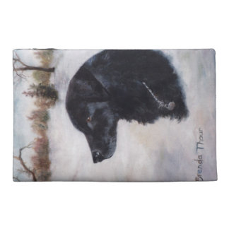 Actune Dog Portrait Travel Accessories Bags