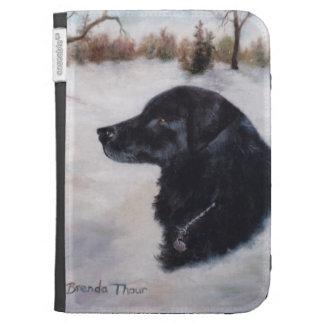 Actune Dog Portrait Kindle Folio Case