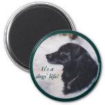 Actune Dog Portrait Magnet