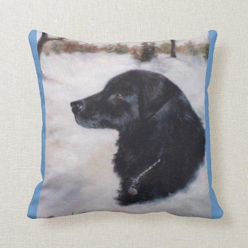 Actune Dog Portrait Pillow