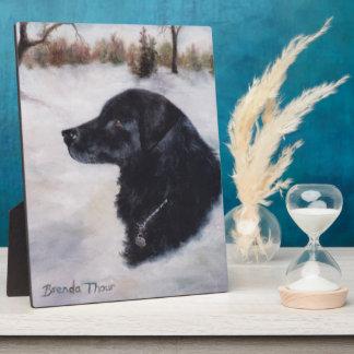 Actune Dog Portrait Plaque