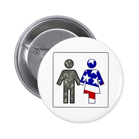 ACU Boy/ Patriotic Girl Button