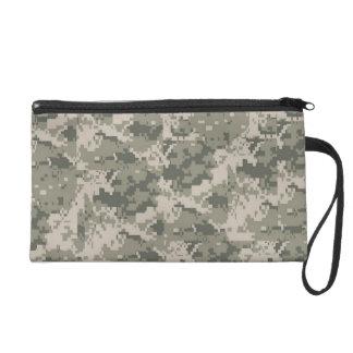 ACU Camo Camouflage Digital Make Up Bag Tote Purse Wristlet Purse
