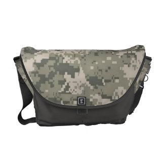 ACU Camo Camouflage Digital Pattern Bag Tote Purse Messenger Bags