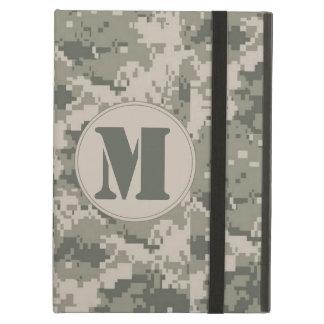 ACU Camo Camouflage Monogram Initial IPAD Case