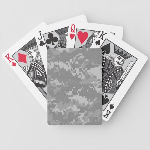 ACU Camo Distressed Edition Playing Cards