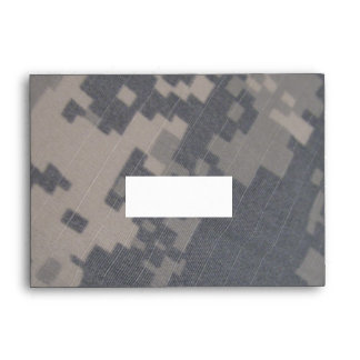 ACU Camo Personalized Envelope