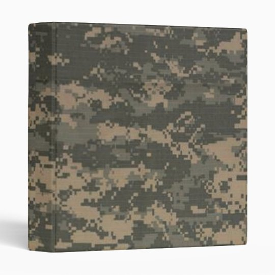 "2"" Love Me Promotion Binder ARMY ACU Camo Camoufl"