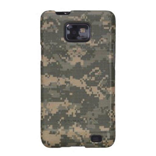 ACU Digital Camo Camouflage Samsung Galaxy SII Cases