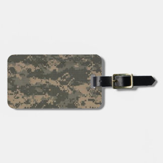 ACU Digital Camo Camouflage Luggage Tag