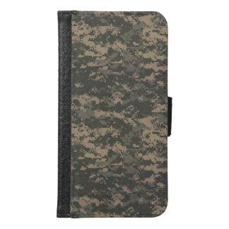 ACU Digital Camo Camouflage Samsung Galaxy S6 Wallet Case