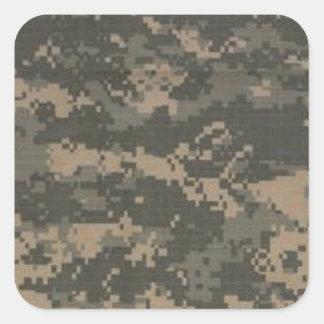 ACU Digital Camo Camouflage Square Sticker