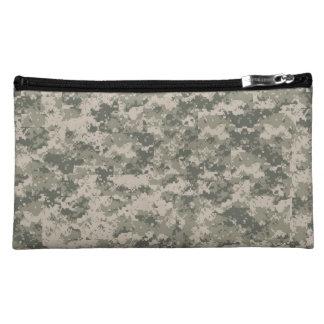 ACU Digital Camo Camouflage Uniform Military Makeup Bag