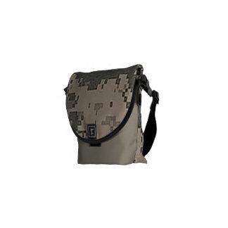 ACU Digital Pattern Peace Love Nature Destiny Courier Bags