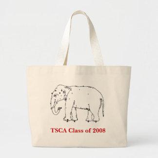 Acu-Elephant TSCA Class of 2008 Canvas Bags