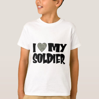 ACU Heart - I Love My Soldier T-Shirt