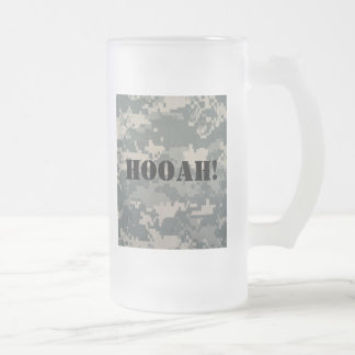 ACU HOOAH! FROSTED 16oz BEER MUG