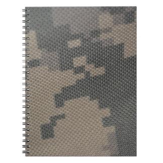 ACU Military Pattern Uniform Troops Peace Destiny Note Books