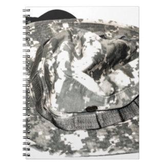 ACU Military Pattern Uniform Troops Peace Destiny Notebook