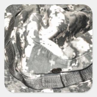 ACU Military Pattern Uniform Troops Peace Destiny Square Sticker