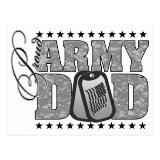 ACU orgulloso del papá del ejército Tarjetas Postales