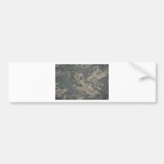 Acu Pattern Camouflage Troops Digital Art Peace Bumper Sticker
