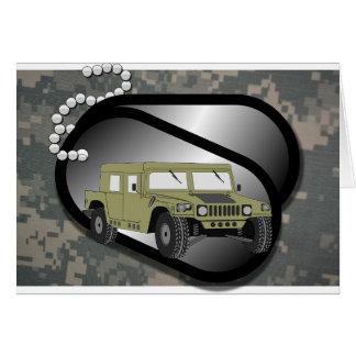 Acu Pattern Camouflage Troops Digital Art Peace Card