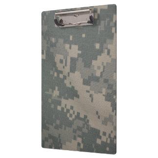 Acu Pattern Camouflage Troops Digital Art Peace Clipboard