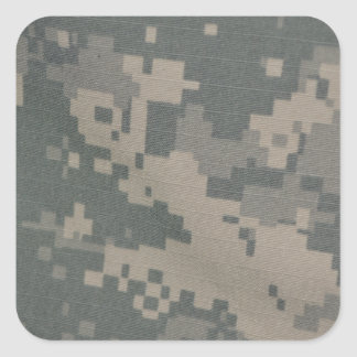 Acu Pattern Camouflage Troops Digital Art Peace Square Sticker