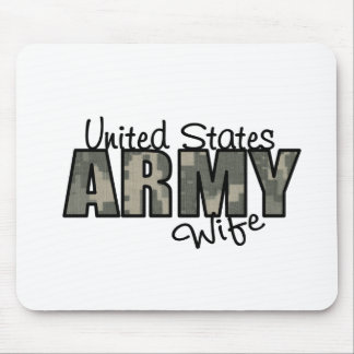 ACU Proud Army Wife Mouse Pad
