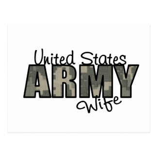 ACU Proud Army Wife Postcards