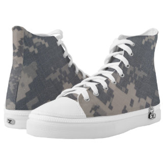ACU Style Camo Design Printed Shoes