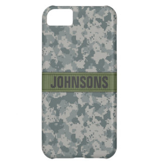 ACU Style Camo Personalized Case For iPhone 5C