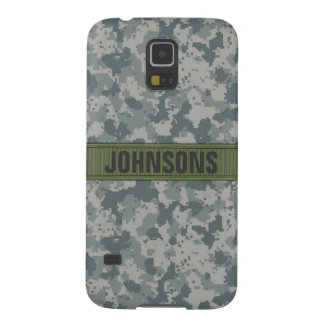 ACU Style Camo Personalized Case For Galaxy S5