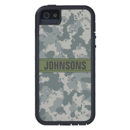 ACU Style Camo Personalized iPhone SE/5/5s Case