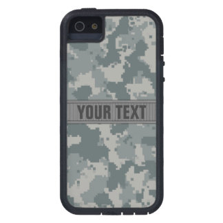 ACU Style Gray Camo #2 Personalized iPhone 5 Covers
