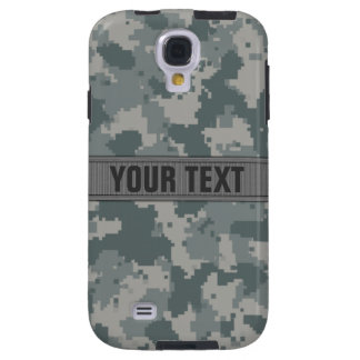 ACU Style Gray Camo #2 Personalized Galaxy S4 Case