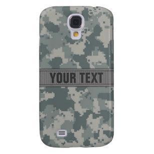 ACU Style Gray Camo #2 Personalized Samsung Galaxy S4 Case