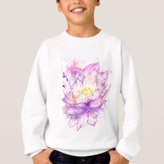 Acuarela 4 de la flor de Lotus Polera
