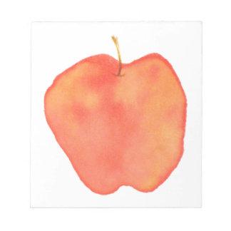 Acuarela Apple Bloc De Papel