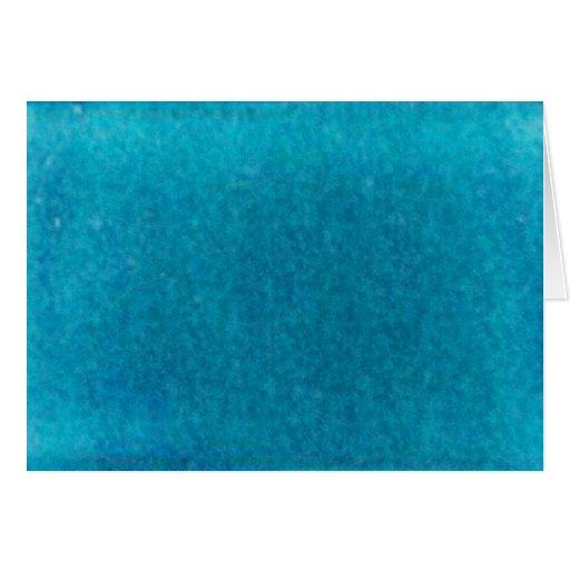 Acuarela azul del mar de la isla - trullo y aguama tarjetón