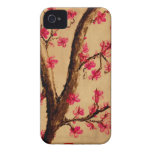 Acuarela Cherryblossom iPhone 4 Case-Mate Protector