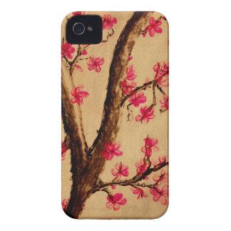 Acuarela Cherryblossom iPhone 4 Case-Mate Protector