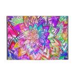 Acuarela colorida del dibujo del estampado de iPad mini protectores