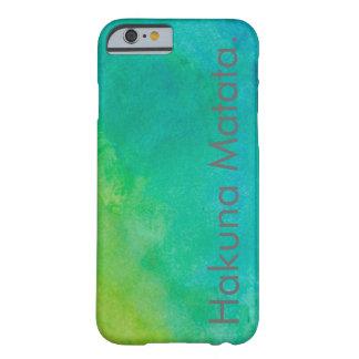 Acuarela de Hakuna Matata Funda Barely There iPhone 6