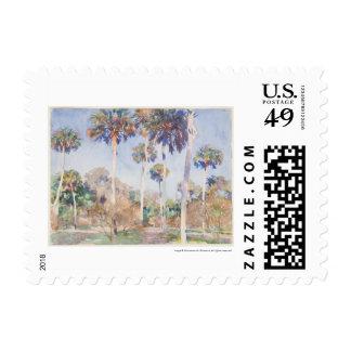 Acuarela de John Singer Sargent - paisaje Timbre Postal