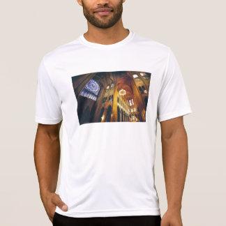 Acuarela de la catedral de Notre Dame de la Camiseta